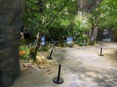 六安霍山霍斛文化馆水泥直塑造景